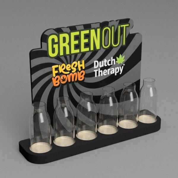 Green Out Fresh Bomb ekspozytor